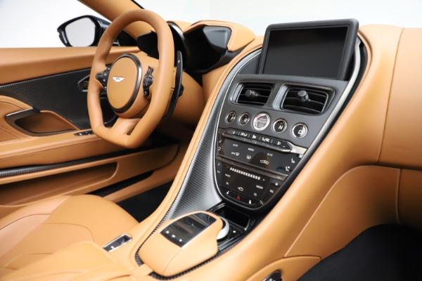 New 2021 Aston Martin DBS Superleggera Volante for sale $392,916 at Bugatti of Greenwich in Greenwich CT 06830 23