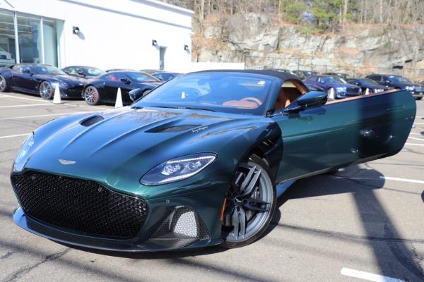 New 2021 Aston Martin DBS Superleggera Volante for sale $392,916 at Bugatti of Greenwich in Greenwich CT 06830 26