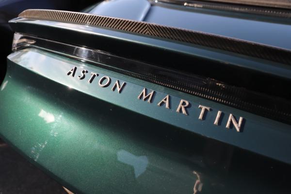 New 2021 Aston Martin DBS Superleggera Volante for sale $392,916 at Bugatti of Greenwich in Greenwich CT 06830 28