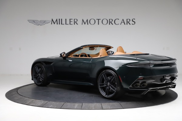 New 2021 Aston Martin DBS Superleggera Volante for sale $392,916 at Bugatti of Greenwich in Greenwich CT 06830 3