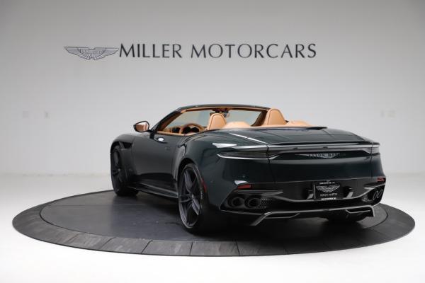 New 2021 Aston Martin DBS Superleggera Volante for sale $392,916 at Bugatti of Greenwich in Greenwich CT 06830 4
