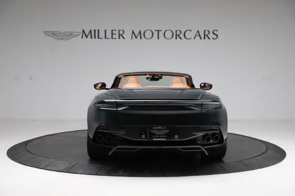 New 2021 Aston Martin DBS Superleggera Volante for sale $392,916 at Bugatti of Greenwich in Greenwich CT 06830 5