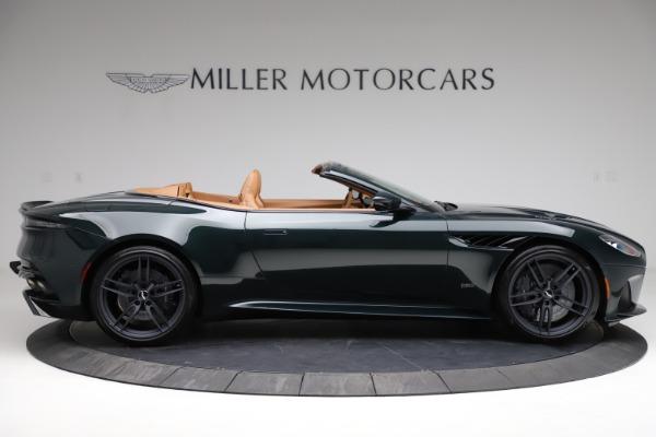 New 2021 Aston Martin DBS Superleggera Volante for sale $392,916 at Bugatti of Greenwich in Greenwich CT 06830 8