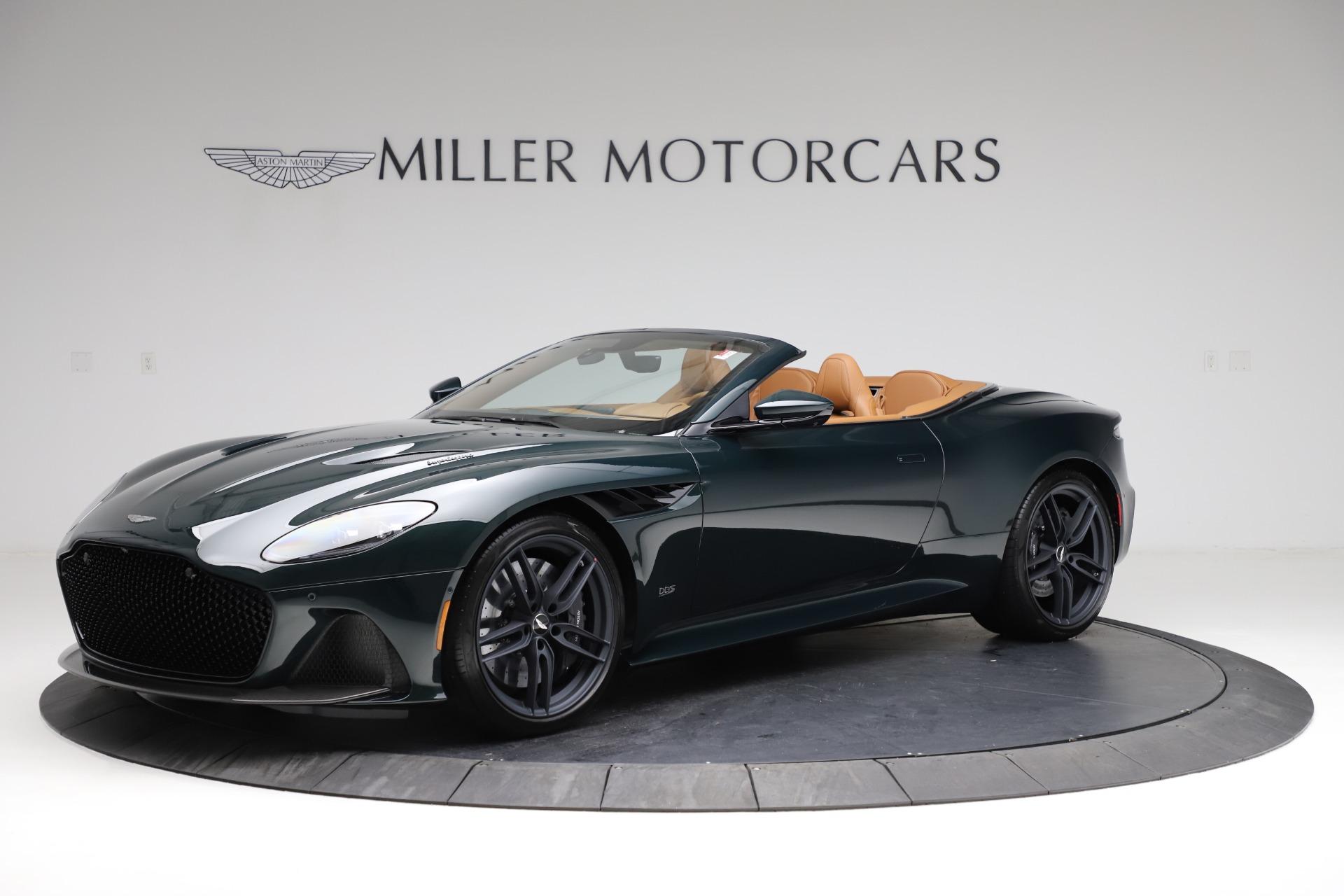 New 2021 Aston Martin DBS Superleggera Volante for sale $392,916 at Bugatti of Greenwich in Greenwich CT 06830 1