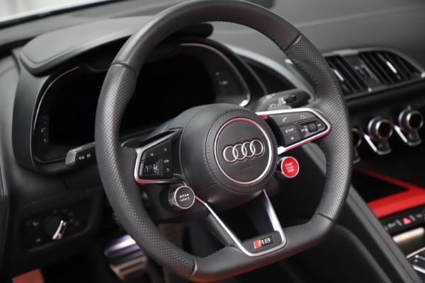 Used 2018 Audi R8 Spyder for sale $154,900 at Bugatti of Greenwich in Greenwich CT 06830 24