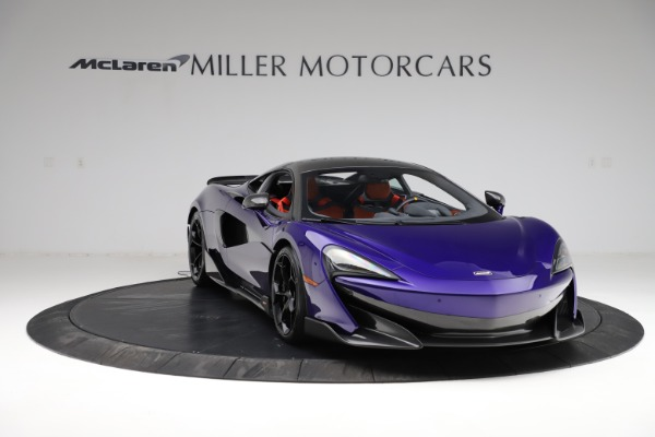 Used 2019 McLaren 600LT for sale $234,900 at Bugatti of Greenwich in Greenwich CT 06830 10