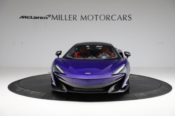 Used 2019 McLaren 600LT for sale $234,900 at Bugatti of Greenwich in Greenwich CT 06830 11