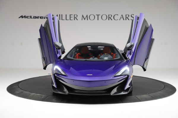 Used 2019 McLaren 600LT for sale $234,900 at Bugatti of Greenwich in Greenwich CT 06830 12