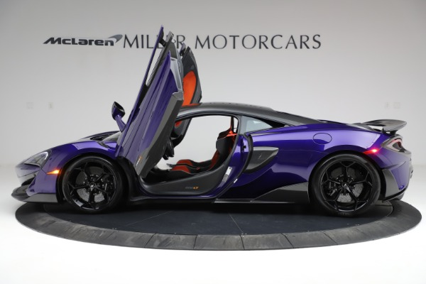 Used 2019 McLaren 600LT for sale $234,900 at Bugatti of Greenwich in Greenwich CT 06830 14