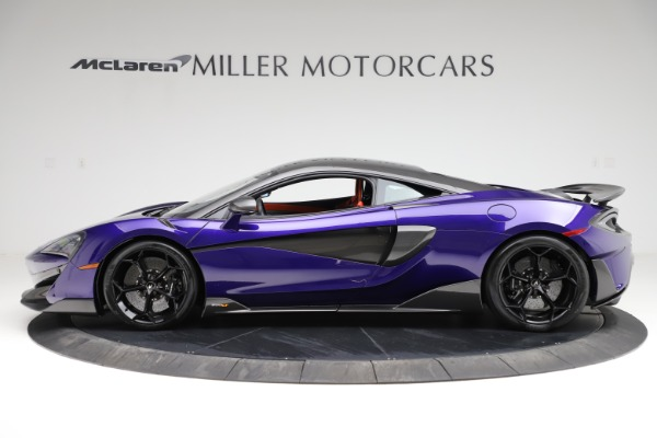 Used 2019 McLaren 600LT for sale $234,900 at Bugatti of Greenwich in Greenwich CT 06830 2