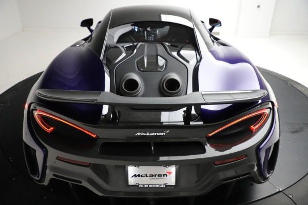 Used 2019 McLaren 600LT for sale $234,900 at Bugatti of Greenwich in Greenwich CT 06830 26