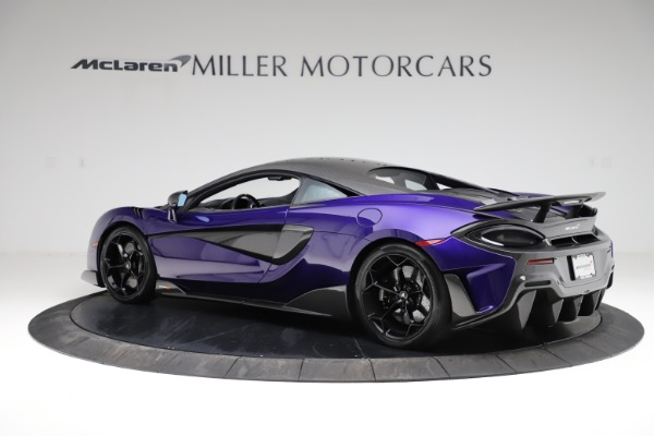 Used 2019 McLaren 600LT for sale $234,900 at Bugatti of Greenwich in Greenwich CT 06830 3