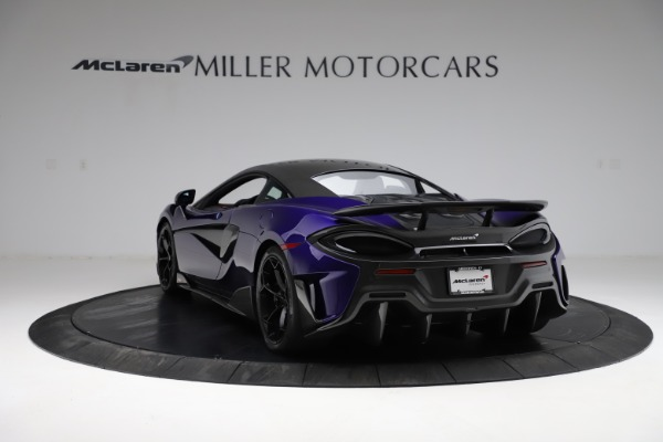 Used 2019 McLaren 600LT for sale $234,900 at Bugatti of Greenwich in Greenwich CT 06830 4