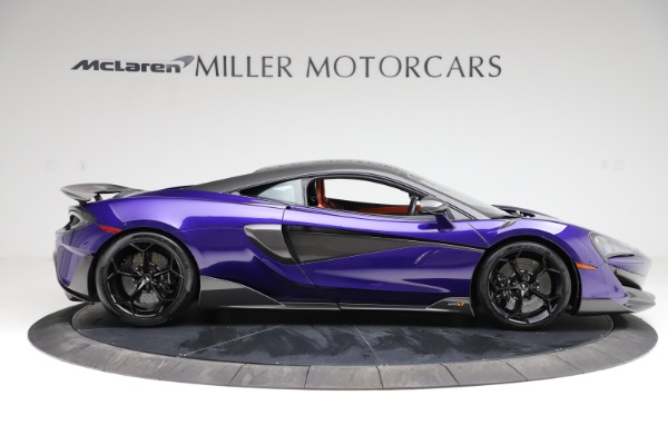 Used 2019 McLaren 600LT for sale $234,900 at Bugatti of Greenwich in Greenwich CT 06830 8
