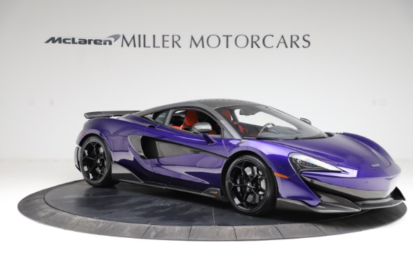 Used 2019 McLaren 600LT for sale $234,900 at Bugatti of Greenwich in Greenwich CT 06830 9