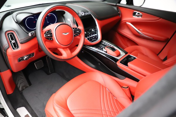 New 2021 Aston Martin DBX for sale $210,386 at Bugatti of Greenwich in Greenwich CT 06830 14