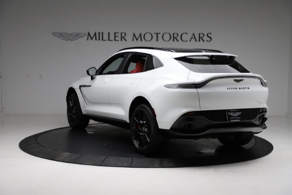 New 2021 Aston Martin DBX for sale $210,386 at Bugatti of Greenwich in Greenwich CT 06830 4