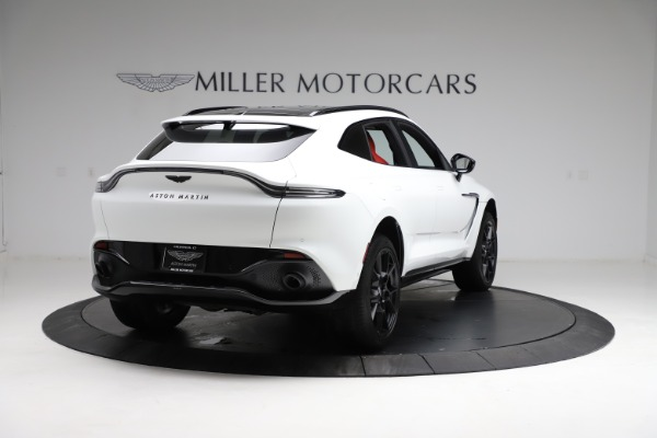 New 2021 Aston Martin DBX for sale $210,386 at Bugatti of Greenwich in Greenwich CT 06830 6
