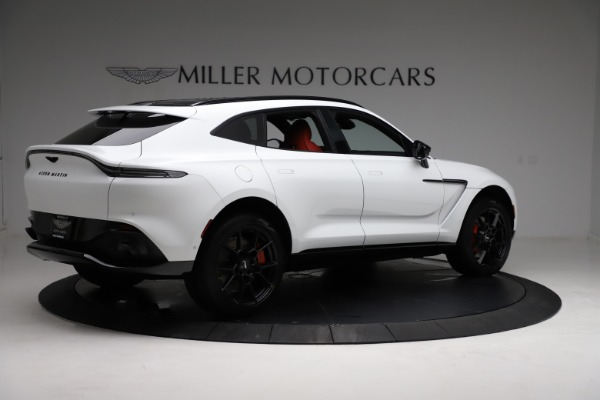 New 2021 Aston Martin DBX for sale $210,386 at Bugatti of Greenwich in Greenwich CT 06830 7