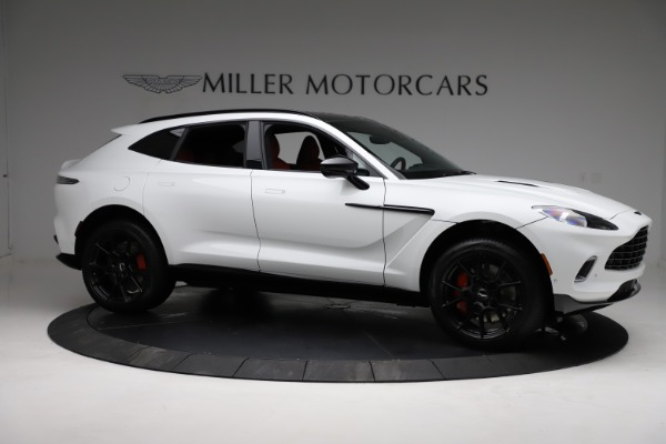New 2021 Aston Martin DBX for sale $210,386 at Bugatti of Greenwich in Greenwich CT 06830 9