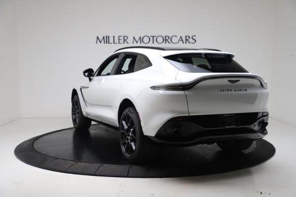 New 2021 Aston Martin DBX for sale $206,286 at Bugatti of Greenwich in Greenwich CT 06830 4