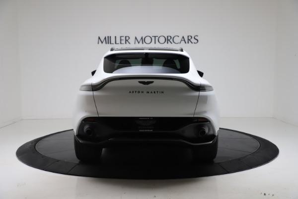 New 2021 Aston Martin DBX for sale $206,286 at Bugatti of Greenwich in Greenwich CT 06830 5