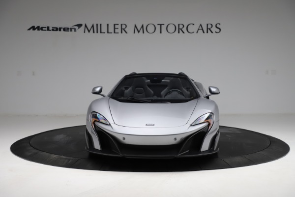 Used 2016 McLaren 675LT Spider for sale $275,900 at Bugatti of Greenwich in Greenwich CT 06830 11