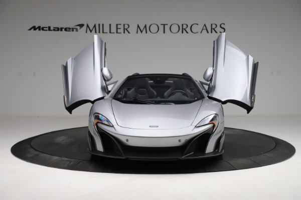 Used 2016 McLaren 675LT Spider for sale $275,900 at Bugatti of Greenwich in Greenwich CT 06830 12