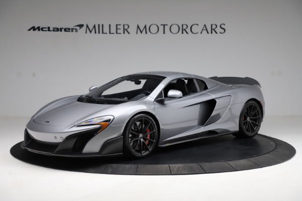 Used 2016 McLaren 675LT Spider for sale $275,900 at Bugatti of Greenwich in Greenwich CT 06830 14