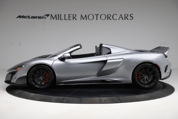 Used 2016 McLaren 675LT Spider for sale $275,900 at Bugatti of Greenwich in Greenwich CT 06830 2