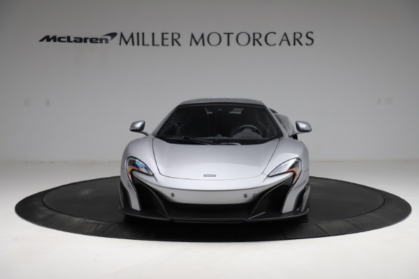 Used 2016 McLaren 675LT Spider for sale $275,900 at Bugatti of Greenwich in Greenwich CT 06830 21