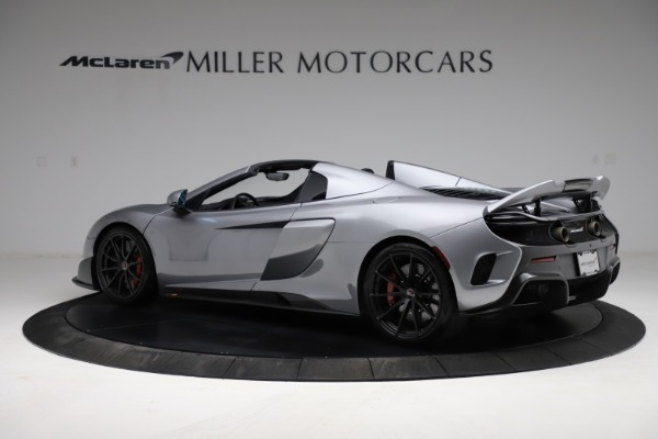 Used 2016 McLaren 675LT Spider for sale $275,900 at Bugatti of Greenwich in Greenwich CT 06830 3
