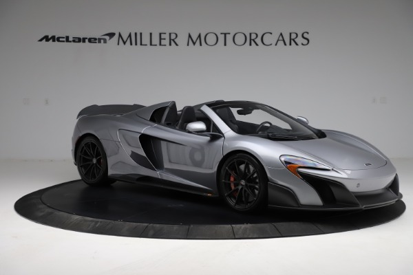 Used 2016 McLaren 675LT Spider for sale $275,900 at Bugatti of Greenwich in Greenwich CT 06830 9