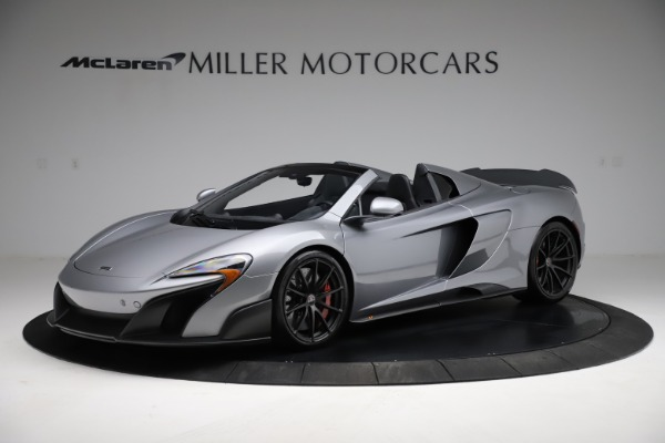 Used 2016 McLaren 675LT Spider for sale $275,900 at Bugatti of Greenwich in Greenwich CT 06830 1