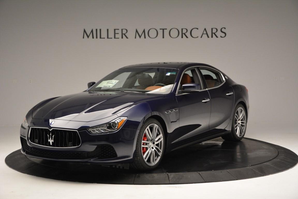 New 2016 Maserati Ghibli S Q4 for sale Sold at Bugatti of Greenwich in Greenwich CT 06830 1