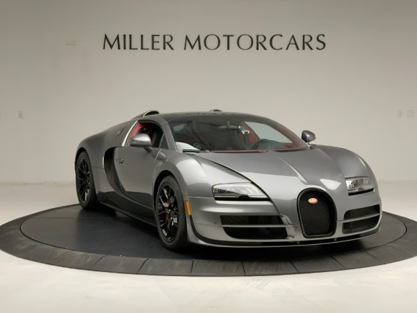 Used 2013 Bugatti Veyron 16.4 Grand Sport Vitesse for sale Call for price at Bugatti of Greenwich in Greenwich CT 06830 19