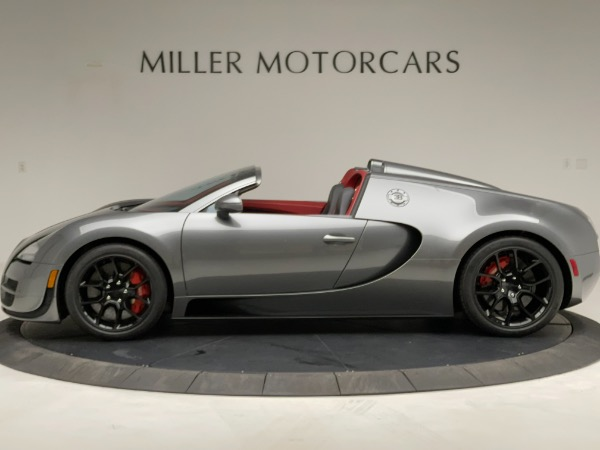 Used 2013 Bugatti Veyron 16.4 Grand Sport Vitesse for sale Call for price at Bugatti of Greenwich in Greenwich CT 06830 3