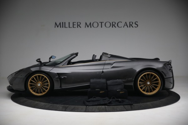 Used 2017 Pagani Huayra Roadster for sale Call for price at Bugatti of Greenwich in Greenwich CT 06830 19