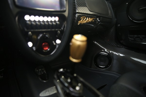 Used 2017 Pagani Huayra Roadster for sale Call for price at Bugatti of Greenwich in Greenwich CT 06830 28