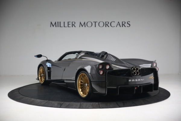 Used 2017 Pagani Huayra Roadster for sale Call for price at Bugatti of Greenwich in Greenwich CT 06830 5