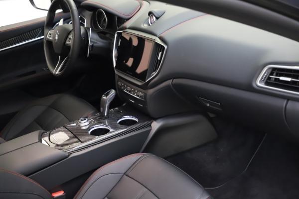 New 2021 Maserati Ghibli S Q4 GranSport for sale $100,285 at Bugatti of Greenwich in Greenwich CT 06830 22
