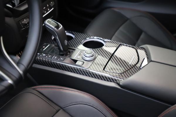 New 2021 Maserati Ghibli S Q4 GranSport for sale $100,285 at Bugatti of Greenwich in Greenwich CT 06830 26