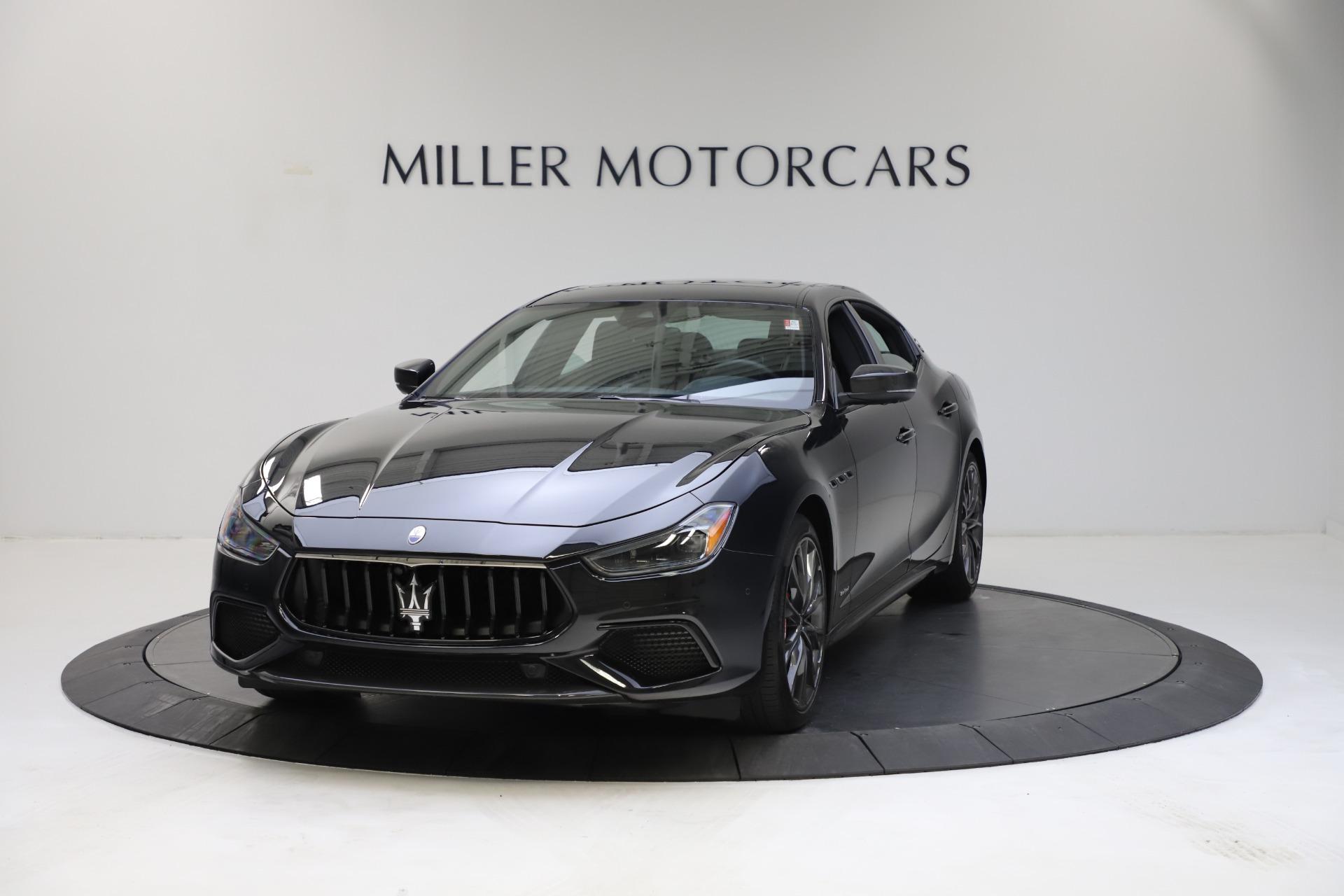 New 2021 Maserati Ghibli S Q4 GranSport for sale $100,285 at Bugatti of Greenwich in Greenwich CT 06830 1