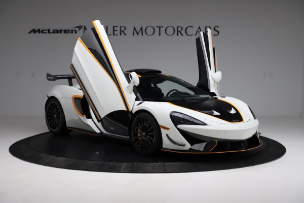 New 2020 McLaren 620R for sale $312,605 at Bugatti of Greenwich in Greenwich CT 06830 15