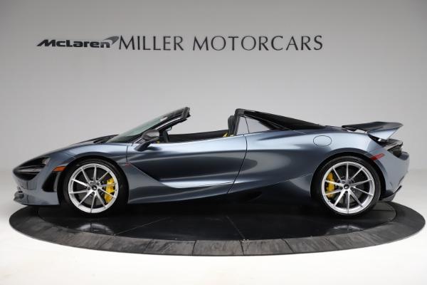 New 2021 McLaren 720S Spider for sale $351,450 at Bugatti of Greenwich in Greenwich CT 06830 2