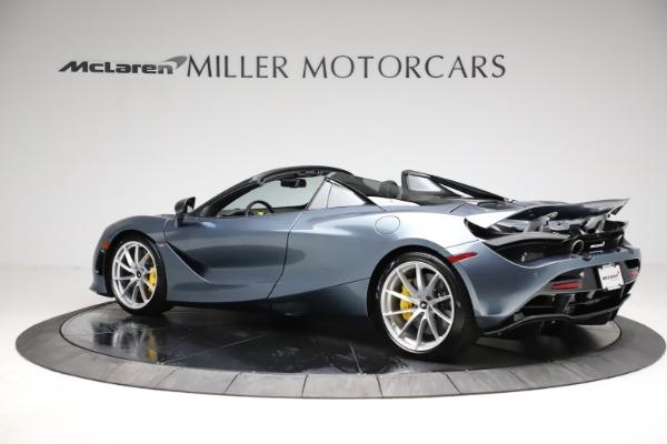 New 2021 McLaren 720S Spider for sale $351,450 at Bugatti of Greenwich in Greenwich CT 06830 3