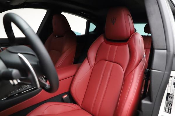 New 2021 Maserati Levante Q4 GranSport for sale Sold at Bugatti of Greenwich in Greenwich CT 06830 16