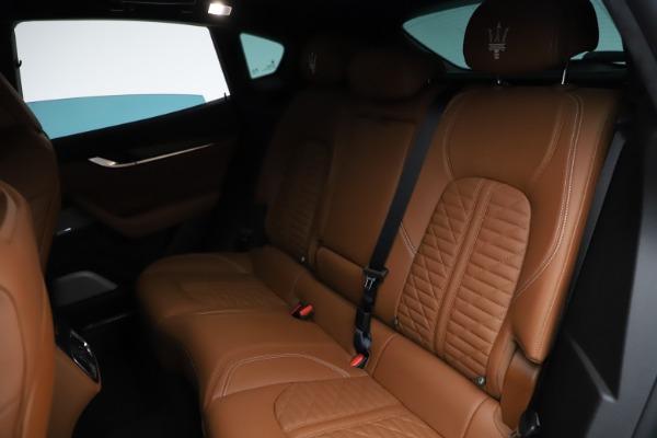 New 2021 Maserati Levante GTS for sale $139,585 at Bugatti of Greenwich in Greenwich CT 06830 24