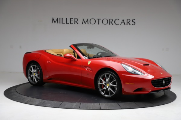 Used 2010 Ferrari California for sale $114,900 at Bugatti of Greenwich in Greenwich CT 06830 10