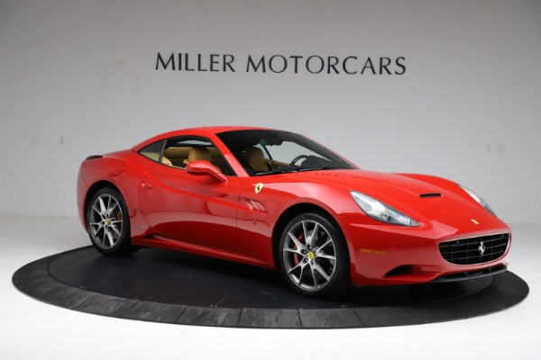 Used 2010 Ferrari California for sale $114,900 at Bugatti of Greenwich in Greenwich CT 06830 18